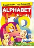 Edu Hub Super Duper Copy Colouring Alphabet